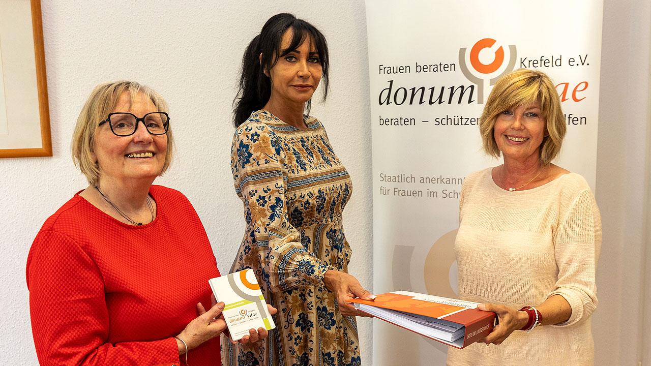 Foto Marita Tautz, Renate Schaffrath, Uta Schwinn