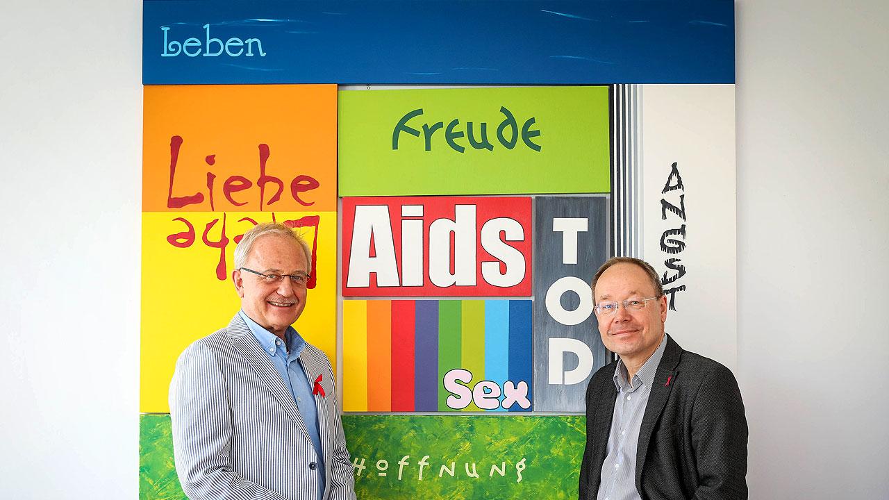 Foto Aidshilfe Düsseldorf e.V. , durch Kuratoriumsmitglied Heinz-Richard Heinemann
